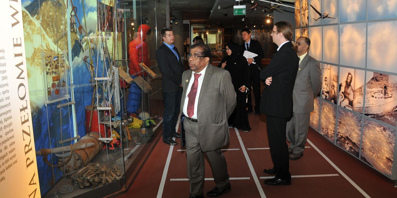 Wizyta delegacji Głównego Urzędu ds. Młodzieży i Sportu Zjednoczonych Emiratów Arabskich w Warszawie