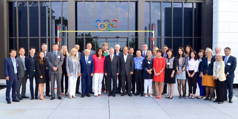 XIX Sesja Rady Dyrektorów Sieci Olimpijskich Muzeów Sportu w Lozannie