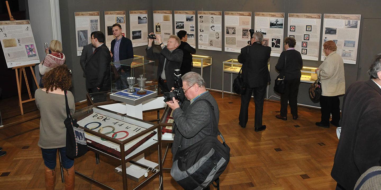 Wystawa ,,Sport za drutami'' w Muzeum Niepodległości w Warszawie