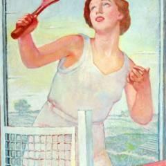 Ludomir Ślendziński - Dziewczyna grająca w tenisa