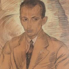 Stanisław Ignacy Witkiewicz - Portret Antoniego Gąsiora